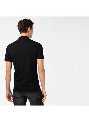 Lacoste Erkek Slim Fit Tişört PH0022.22S Siyah